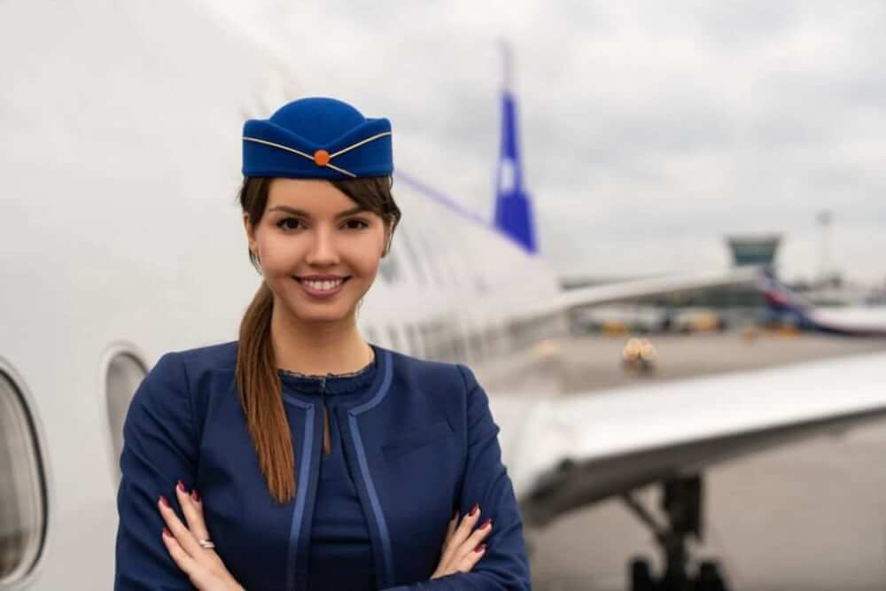 steps to become air hostess